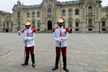 Change of Guards at Convent of Santo Domingo