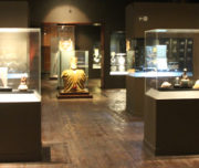 Inside Museo Larco in Lima