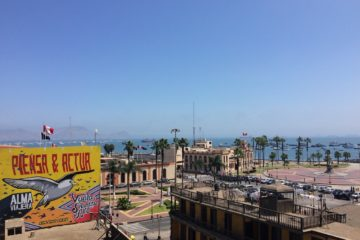 View of Real Felipe and La Punta, Callao