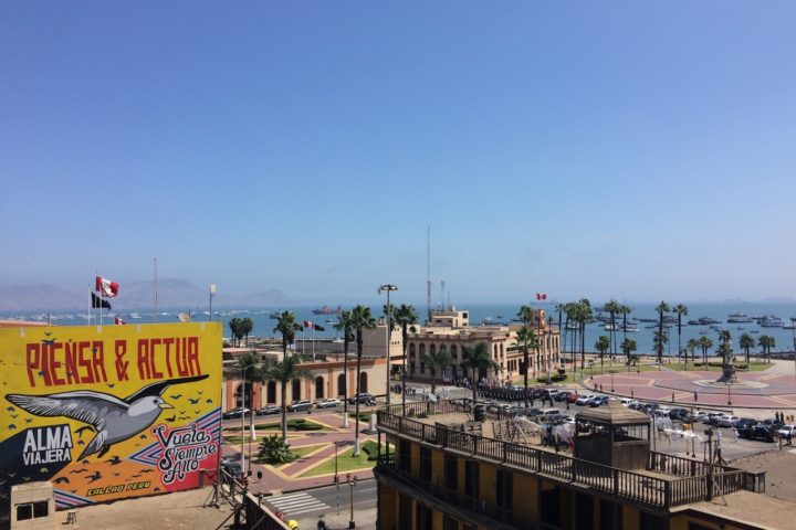 View of Real Felipe and La Punta, Callao