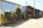 Mural on House in Villa El Salvador